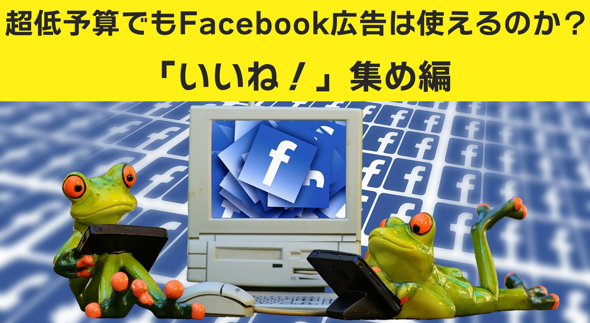 Facebook広告費1万円で何いいね買えるか検証した予想外の結果