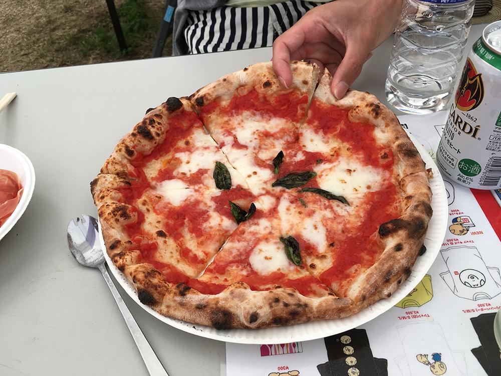 まんパク2017ピザもうまかったよ