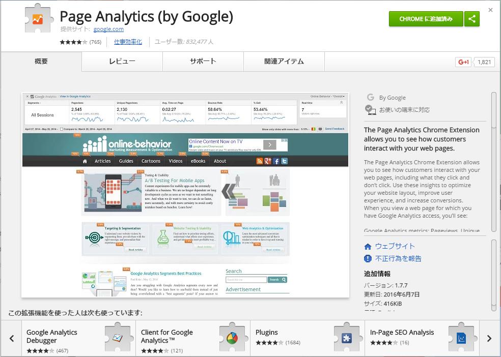 Page Analitics