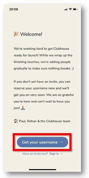 Clubhouse招待枠を使わずに招待・参加する方法